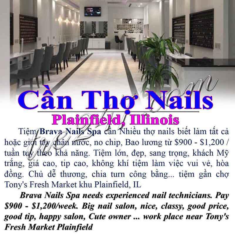 Tiệm Nail Ở Plainfield ILCần Thợ Nails